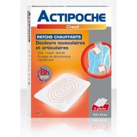 Actipoche - Patch chauffant - 2 Patchs