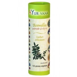 Ayur-Vana - Boswellia Confort Articulaire - 120 gélules