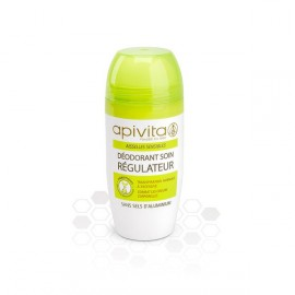 Apivita - Déo roll on aisselles régulateur - Tube 40 ml