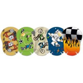 ORTOPAD ® boys - Cache oculaire occlusif Junior grands motifs - boîtes de 50 pièces