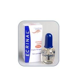 Ecrinal - Vernis Amer pour ongles rongés - Flacon 10 ml