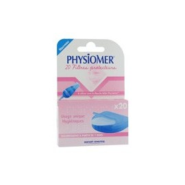 Physiomer - Recharges Mouche Bébé - 20 embouts Filtres