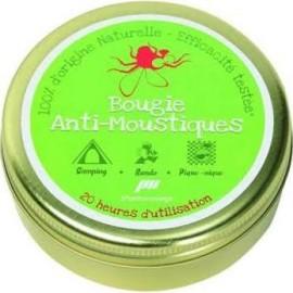 Bougie Anti-moustiques - 100 % Naturelle