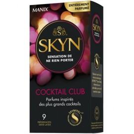 Manix - Préservatifs Skyn Cocktail Club - Boite de 9