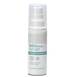 Déo spray sport anti-transpirant PEPINS DE PAMPLEMOUSSE - Spray 100 ml
