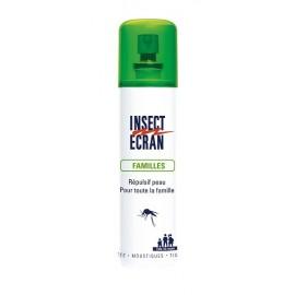 Insect Ecran - Spray Répulsif Insects Pour Toute La Famille - Vaporisateur sans gaz de 100 ml