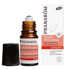 Pranarôm - Cepharom Roller Friction Aux Huiles Essentielles Bio - 10 ml