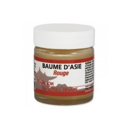 Tradition du soleil levant - Baume d'Asie rouge - pot de 30 ml