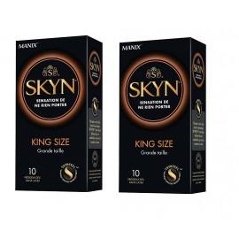 Manix - Skyn King Size - Lot de 2 Boites de 10 préservatifs