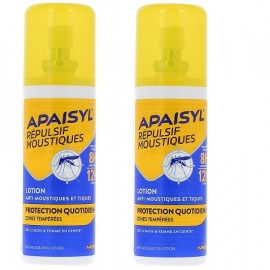 APAISYL - REPULSIF MOUSTIQUE PROTECTION QUOTIDIEN - Lot 2x90ml