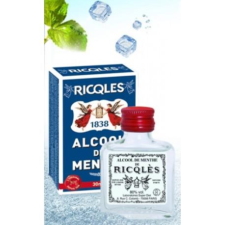 Ricqlès - Alcool de Menthe - Flacon rond 100 ml