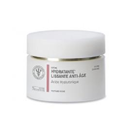 Crème Hydratante Lissante Anti-âge - Acide Hyaluronique - Texture Riche - 50 ml
