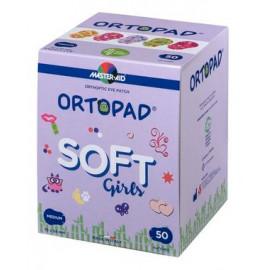 ORTOPAD Girls - Cache Oculaire Occlusif Medium - Effet 3D Tactile - Boîtes de 50 pièces