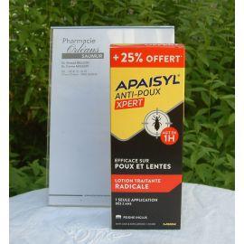 Apaisyl Poux - Xpert - Lotion Traitante Radicale Poux et lentes - 150 ml