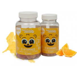 Nat et form - vitamines Junior+ immunité - 60 gommes