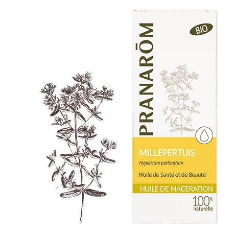 Pranarôm - Huile de Macération Bio Millepertuis - 50 ml