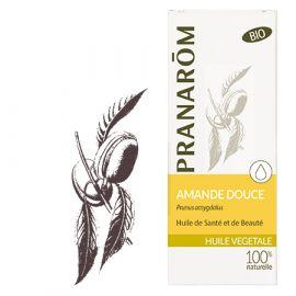 Pranarôm - Huile Végétale Vierge Amande douce - 50 ml