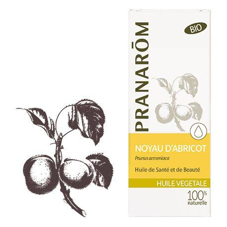 Pranarôm - Huile Végétale Vierge Noyau d'abricot - 50 ml