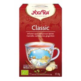 Offre de 6 lots d'infusion - Yogi Tea Classic - 6x17 sachets