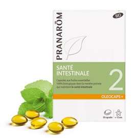 Oléocaps N°2 Santé Intestinale - Pranarôm - 30 Capsules