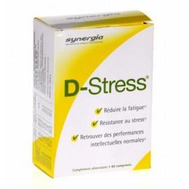 D-Stress - Synergia Stress Hyperémotivité - Boite de 80 comprimés
