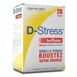 Synergia - D-Stress Booster - Boite de 20 sachets