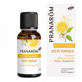 Pranarôm - Les Diffusables BIO Zeste tonique (Eco) - 30 ML