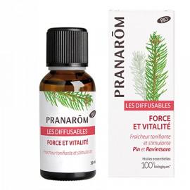 Pranarôm - Les Diffusables BIO Force et Vitalité - 30 ML