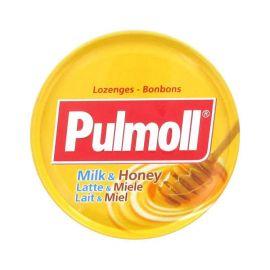 Pulmoll - Pastilles sans sucres Gorge Lait Miel - 45 gr