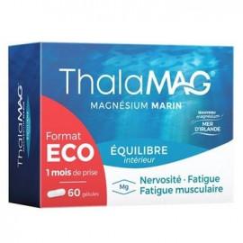 Thalamag Equilibre - Magnesium Marin - Format Eco 60 gélules