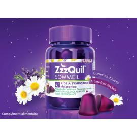 ZzzQuil Sommeil - Aide à s'endormir vite - 30 Gommes
