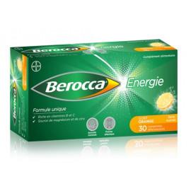 Berocca - Comprimés Effervescents Thiamine - 30 Cps