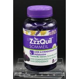 ZzzQuil Sommeil - Aide à s'endormir vite - 60 Gommes