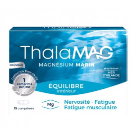 Thalamag Equilibre Intérieur - Magnesium Marin - 30 gélules