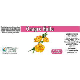 Prophar - Huile Onagre 500 mg - 150 Capsules