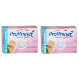 Prorhinel - Recharges Embouts Jetables Souples Pour Mouche-bébé - Boite de 20 Lot de 2