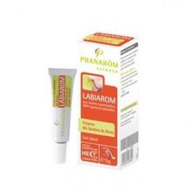 Pranarôm - Labiarom Préserve des boutons de lèvres - Gel labial - Tube 5 gr