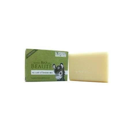 Savon Lait D'Anesse Bio - Huile essentielle Verveine - 100 gr