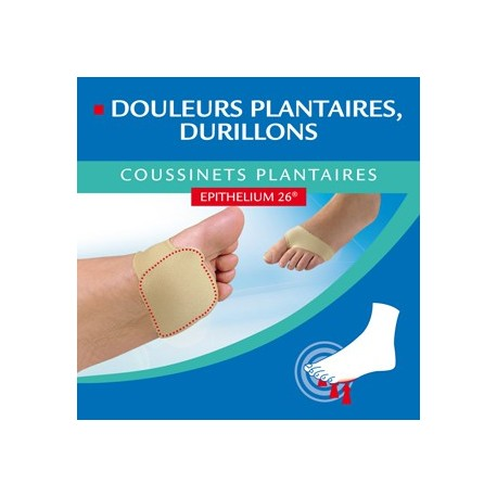 Epitact - Coussinets Plantaires Taille 39/41 M - 2 Coussinets