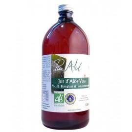 Pur'Aloé - Jus à Boire d'Aloé Vera Biologique - Bouteille 1 litre