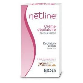 Netline - Crème Dépilatoire Visage - Tube 75 ml