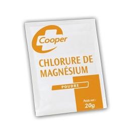 Chlorure de Magnesium - Cooper - Sachet de 20 gr