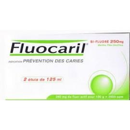 Fluocaril - Dentifrice Bi-Fluoré 125 ml - Lot de 2 Tubes