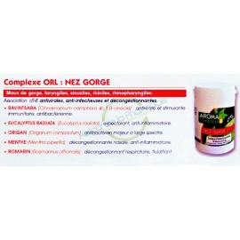 Complexe ORL Nez Gorge HE Bio - Gélules d'huiles Essentielles HECT Prophar - 30 gélules