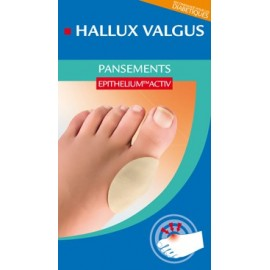 Epitact - Pansements pour Hallux Valgus à l'Epithelium™ Activ - 1 LOT DE 2