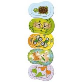 ORTOPAD ® Happy - Cache oculaire Juniors soins orthoptiques - boîtes de 50 pièces